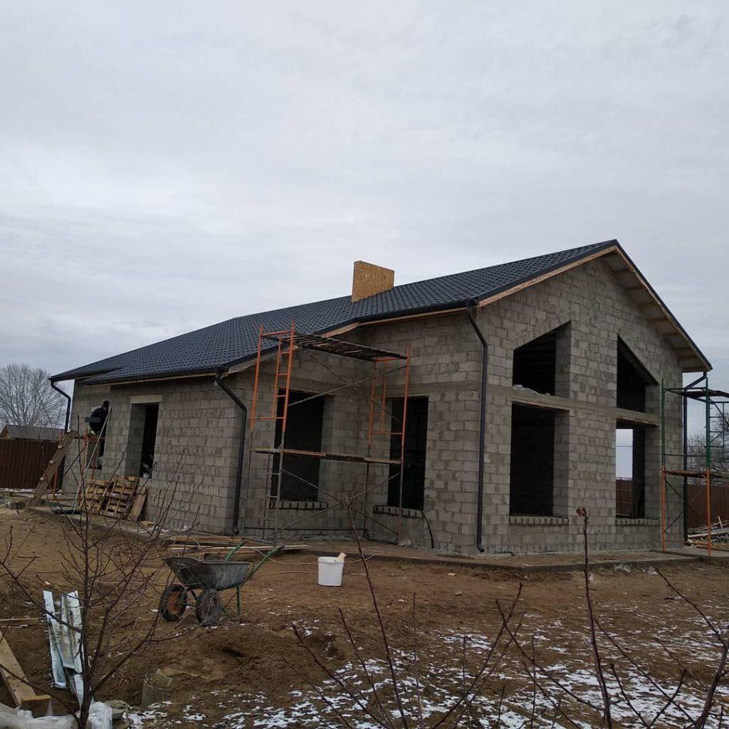 Дом из керамзитобетонных блоков построить в Волгограде